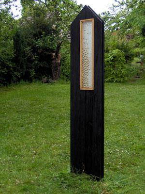 """""""Lichtraum 5/07"""", 2007, 195x40x10cm"""