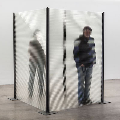 """Ermessensspielraum"", 2014, 1,50x1,50x2m"