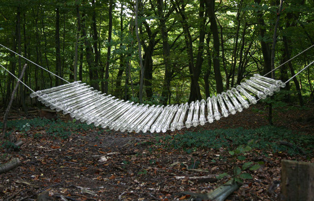 """Glasbrücke"", 2007, 300x150cm"