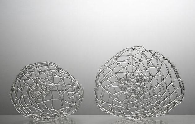 """Helle Zellen"", 2011, jeweils 17x22x15cm"