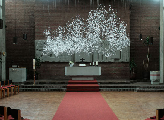 """Loopinvasion"", St.Martinskirche Kiel, 2016"