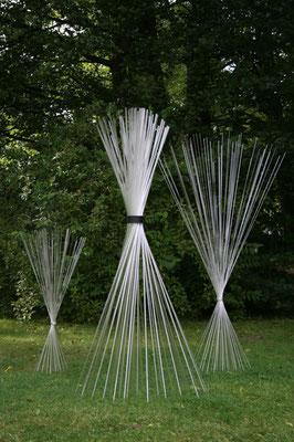 """Lichtbündel"", 2009, 160x120cm"