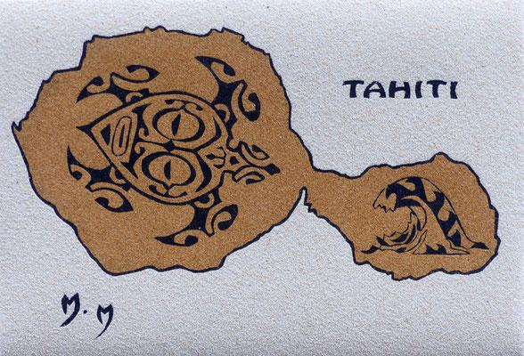 Tahiti - 32 x 22 - VENDU