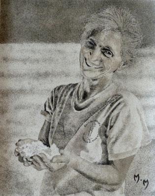 Portrait Salin - 30 x 40 - VENDU (commande)