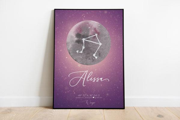 Sternzeichenposter 1