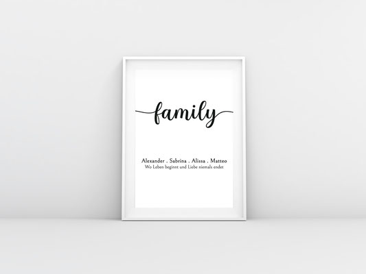 Familienposter 1