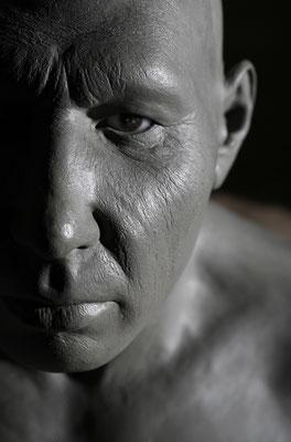 Rekonstruktion des  ersten Neandertalerfundes in Mettmann LVR-LandesMuseum Bonn