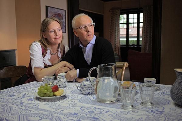 """Perücke und SFX Olli Dittrich """"Schorsch Aigner - Der Mann, der Franz Beckenbauer war""""  Maskenbild Brigitte Frank / Katharina Pade"""