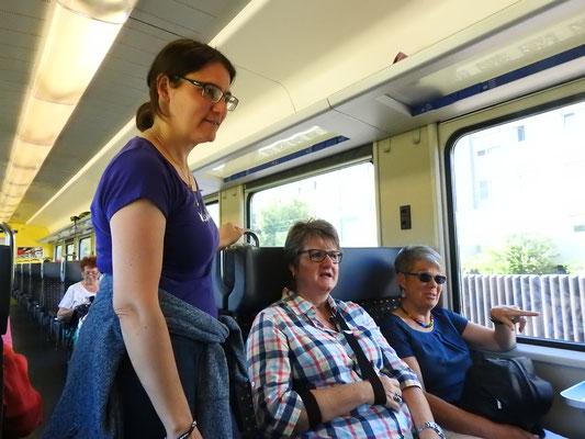 Mit dem Zug