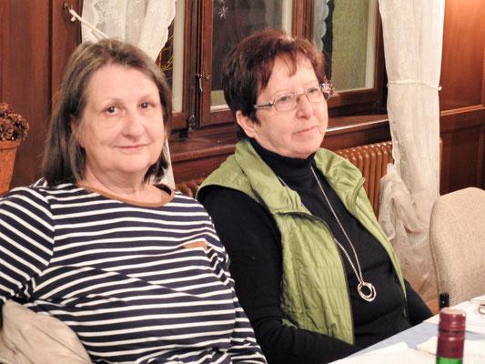 Silvia und Rosmarie