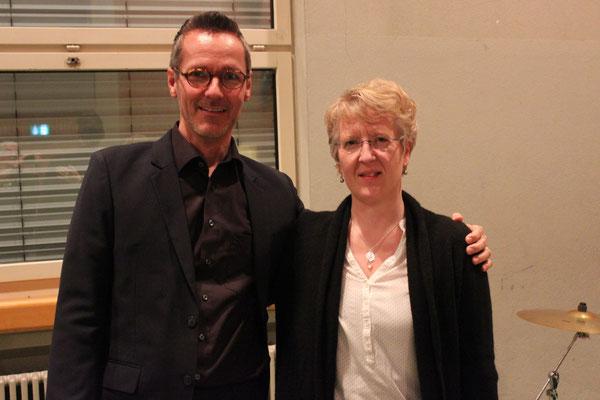 Dirigent Peter und Klaviervirtuosin Aline