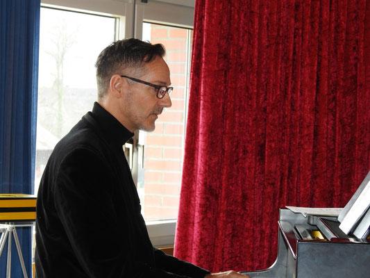 Peter Zimpel konzentriert