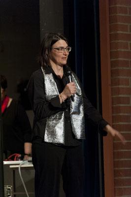Präsidentin Nasthalie Durscher