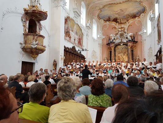 Jubiläumschor-Konzert mit Beteiligung des Frauen-und Männerchores