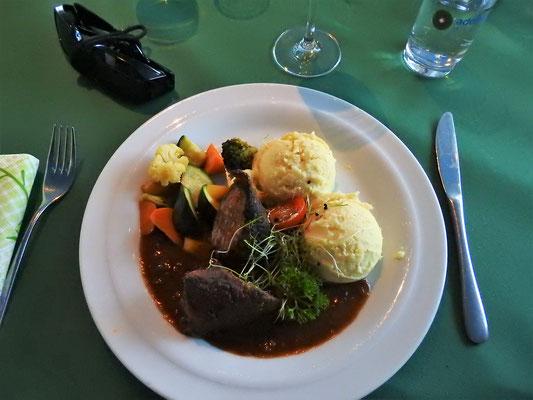 Fleisch-Hauptspeise