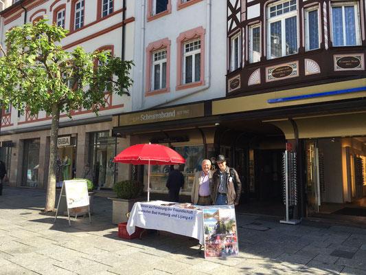 Am 22.05.2017 auf der Louisenstraße in Bad Homburg.