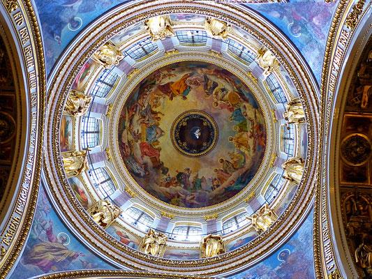 Kuppel Isaakskathedrale St. Petersburg Russland