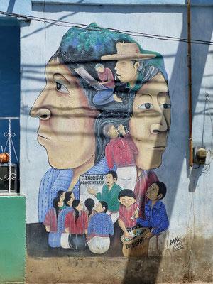 Street-Art San Juan Lago de Atitlán