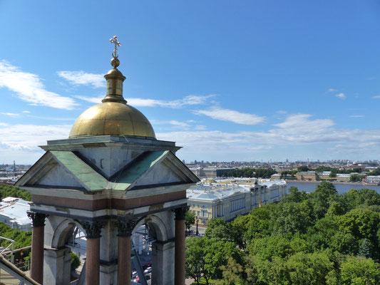 Aussicht Isaakskathedrale St. Petersburg Russland