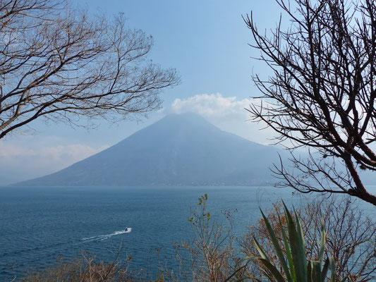 Ausblick Naturreservat Cerro Tzankujil San Marcos Lago de Atitlán
