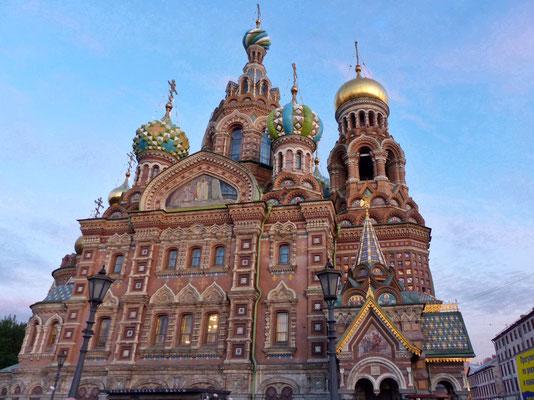 Bluterlöserkirche Auferstehungskirche St. Petersburg Russland