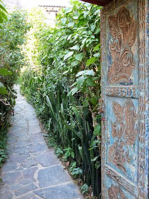 Tür San Marcos Atitlán-See