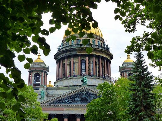 Isaakskathedrale in St. Petersburg Russland