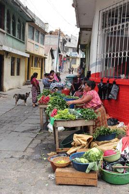 Markt San Pedro Lago de Atitán, Foto by Mama