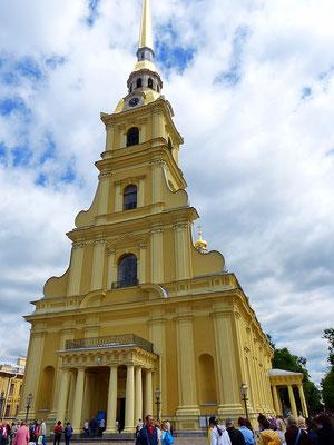 Kathedrale Peter-Paul-Festung St. Petersburg Russland
