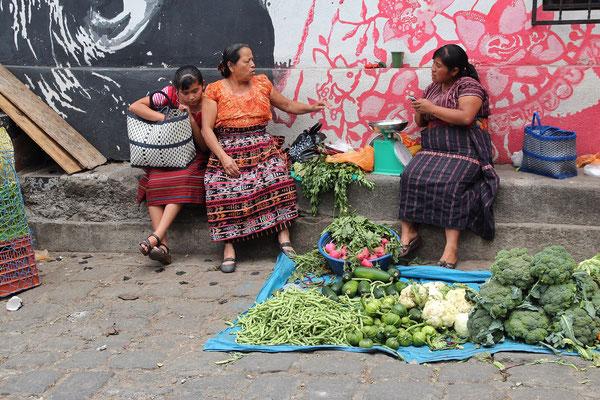 Markt in San Pedro La Laguna, Foto by Mama