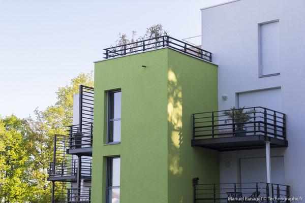 Les Jardins de Golène pour Sto - Haute Goulaine - Agence d'architecture Forma 6