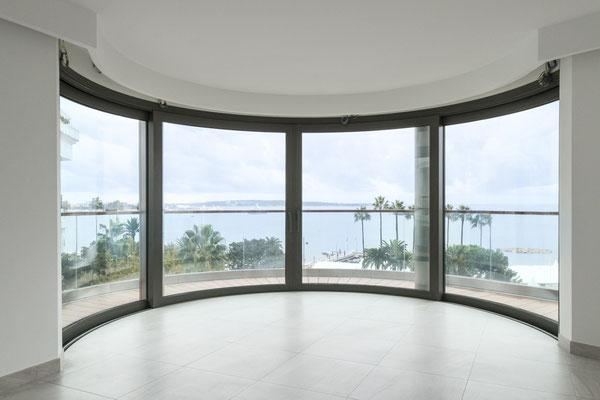 7 Croisette pour Schüco - Cannes -  Renaud d'Hauteserre architecte
