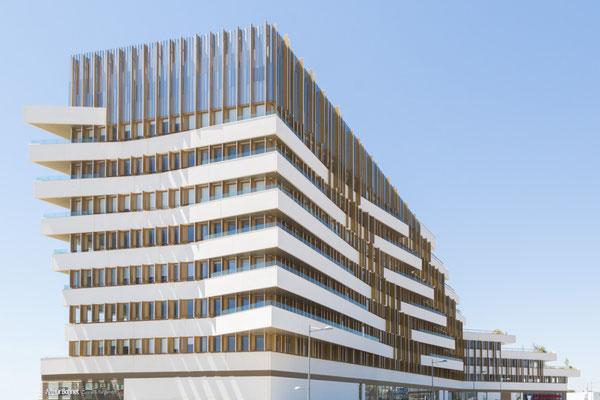 Photographie Manuel Panaget - Immeuble Le Liner - Perols - A+ Architecture
