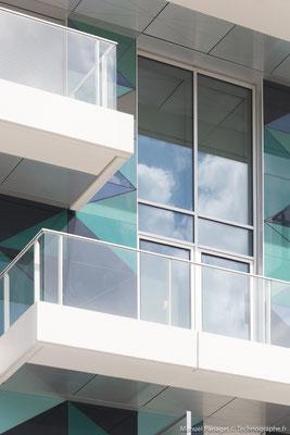 Residence Unik à Boulogne Billancourt pour Sto - Architecte Beckmann N'Thépé