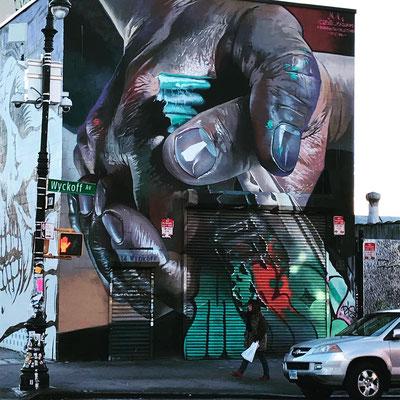 ブッシュウイックの壁画