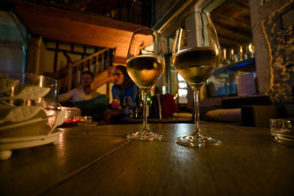 Wijnglaze in de Bourgogne