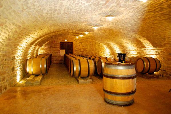 Wijnkekder in Vergisson, de Bourgogne