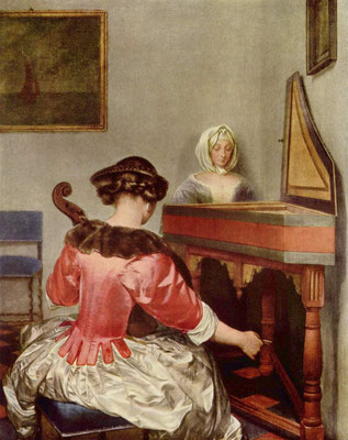 The Concert by Ter Borch