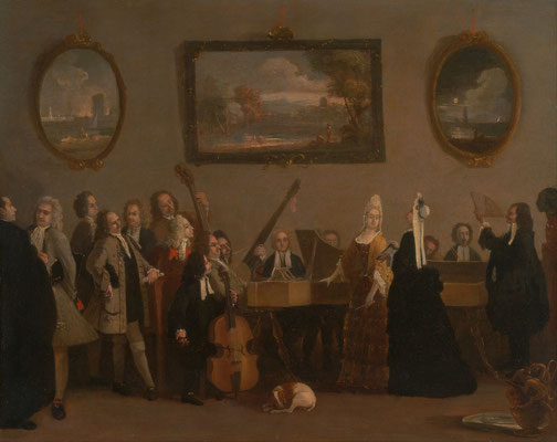 Marco Ricci, Rehearsal of an opera