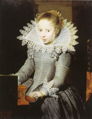 Cornelis de Vos, Girl at a Virginal