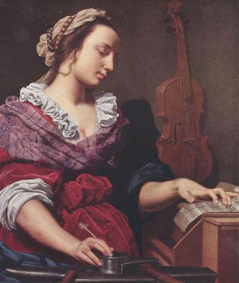 Lippi, Lorenzo: Allegorie der Musik , 2. Drittel 17. Jh., © Sammlung A. Busiri Vici, Rom