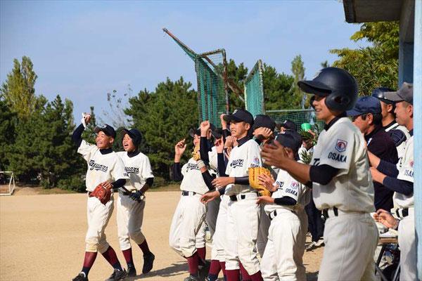 10/30 準々決勝vs生駒中央