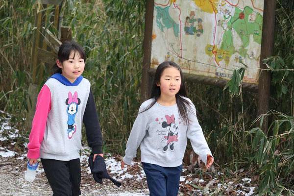 小学生の妹2人も完走しました。