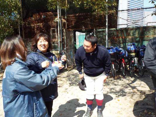 奥城コーチ お誕生日おめでとうございます!!
