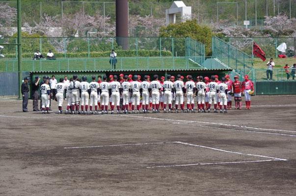 阪神ボーイズとの対戦です!