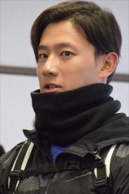 日本ハムファイターズの髙山選手も来てくれました。