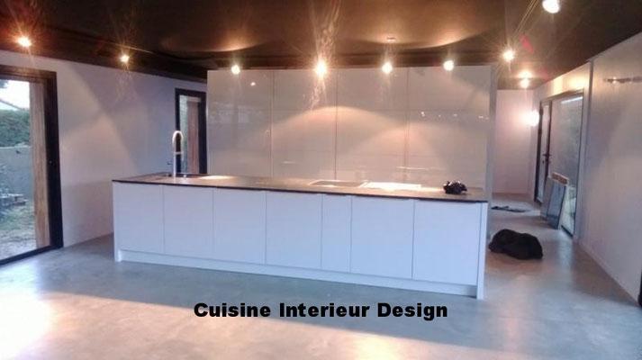 cuisine design par Cuisine interieur design Toulouse leguevin maison d'architecte ilot