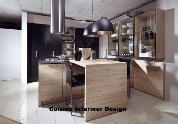 cuisine design Toulouse esprit loft et industriel schroder Kuchen