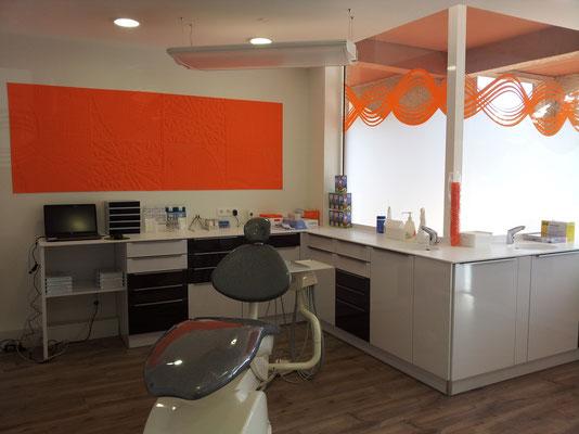 cabinet dentaire plan en corian Toulouse réalisation cuisin design