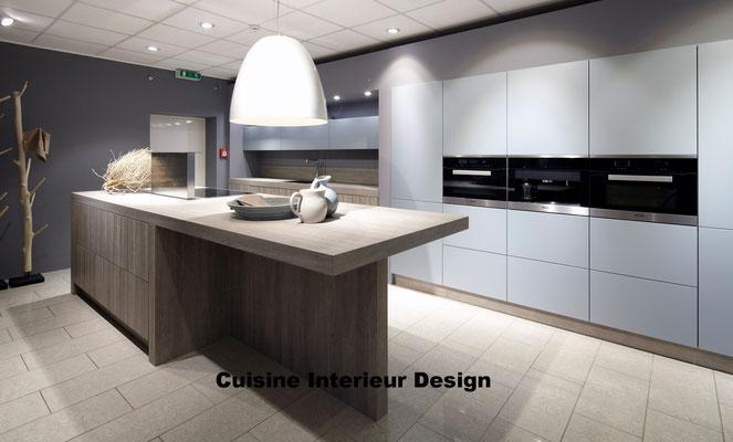 cuisine design Toulouse portes des armoires couleur fjord tendance 2016